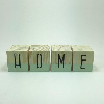 Cubo Home Decorado