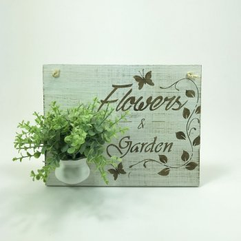 Arranjo Placa Flowers